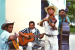 The Band played for our ice cream social the last day of our time with the people of Santa Cruz Arriba in 2003.